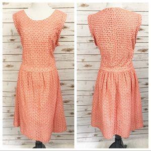 Rebecca Minkoff Eyelet Dress SZ 12